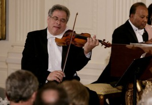 Itzhak Perlman at the White House