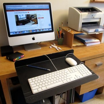 Need a Quick and Easy Adjustable Standing Desk?