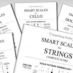 Smart Scales for Strings