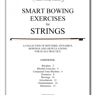 Smart Bowing Exercises for Strings