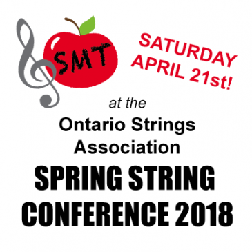 SmartMusicTeacher at the OSA Spring String Conference!